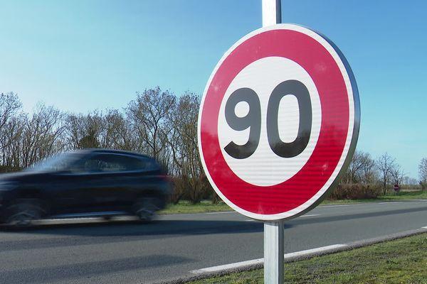 La vitesse maximale autorisée est à nouveau à 90 sur certaines routes départementales de Charente-Maritime.