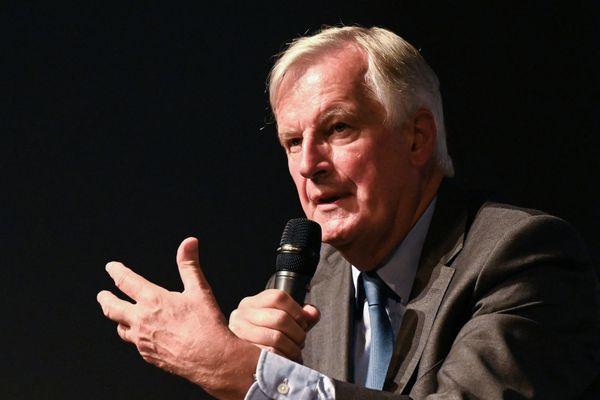 Candidat à l'élection présidentielle, Michel Barnier a développé ses propositions sur le plateau de Dimanche en politique sur France 3 Alpes.