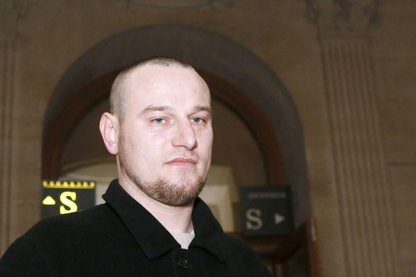 Marc Machin en décembre 2012, au cours d'une audition dans le cadre de son procès en révision pour le meurtre de Marie-Agnès Bedot.