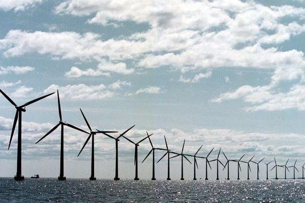 Le projet de parc au large de Saint-Brieuc prévoit l'installation de 62 éoliennes.