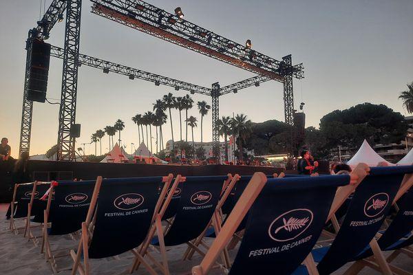Le Cinéma de la plage du Festival de Cannes.