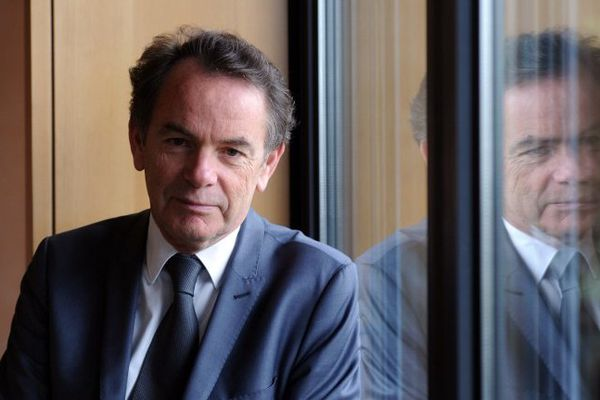Christian Teyssèdre, maire PS sortant de Rodez et candidat à sa succession