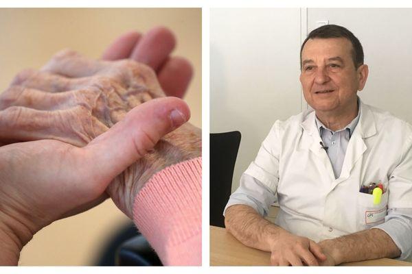 Le Dr Bernard Mercier, chef du service gériatrie au centre hospitalier de Blois