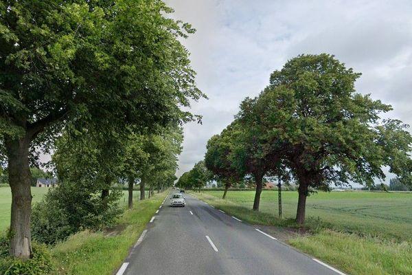 L'accident s'est produit route de Dunkerque à Hardifort dans le sens Cassel-Wormhout