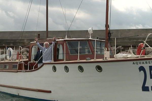 L'Aquabelle et Christian Desseaux auront mis 77 ans avant de se retrouver à Palavas-les-Flots - 26 avril 2017