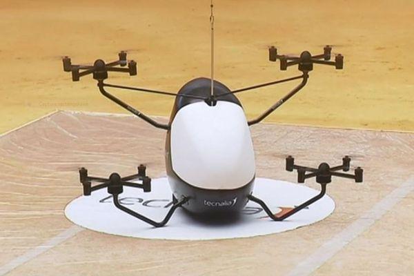 Le taxi-drone, futur remplaçant du taxi automobile ?