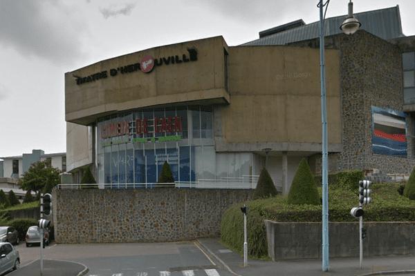 La Comédie de Caen, le Centre Dramatique National de Normandie, à Hérouville-Saint-Clair