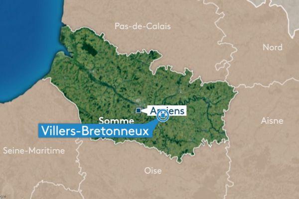 Une douzaine de jeunes migrants ont été découverts dans un camion à Villers-Bretonneux dans la Somme.
