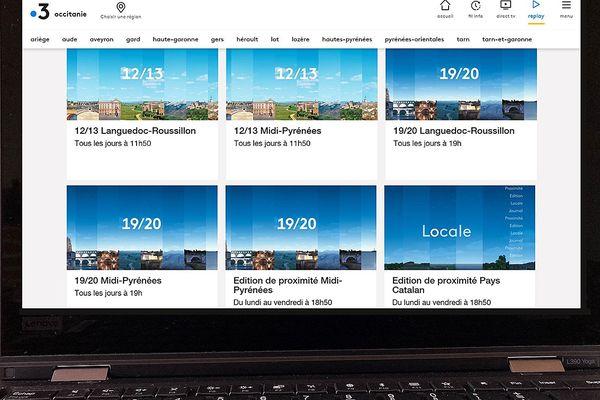 Revoir les émissions et journaux d'actualités régionales, locales, proximité sur le site internet de France 3 Occitanie