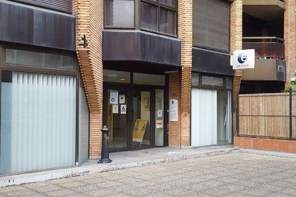 Pôle Emploi ne compte qu'une seule agence en plein centre-ville de Toulouse.
