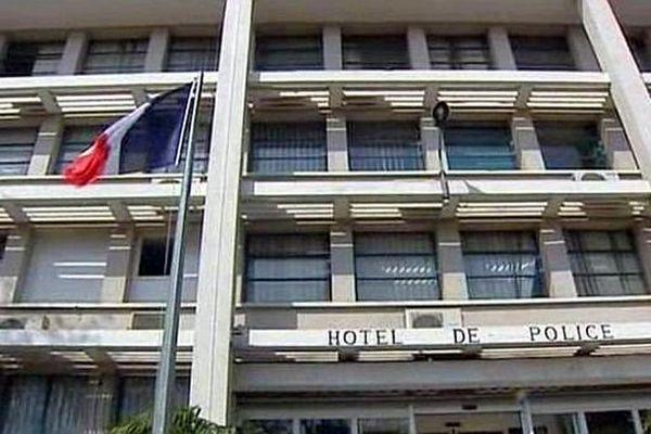 L'hôtel de police de Perpignan - archives
