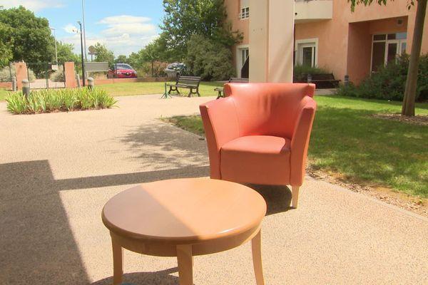 L'Ehpad de Boisseron (Hérault) où nous avions tourné un reportage le 5 juin 2020.