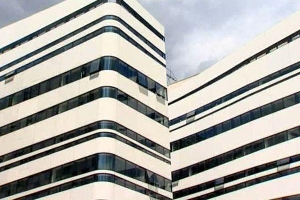 immeuble du rectorat de Dijon par l'architecte Marseillais Rudy Ricciotti