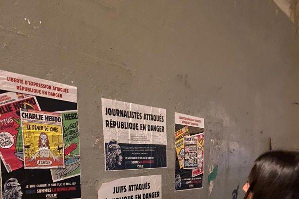 Une quarantaine de militants ont œuvré dans la nuit.