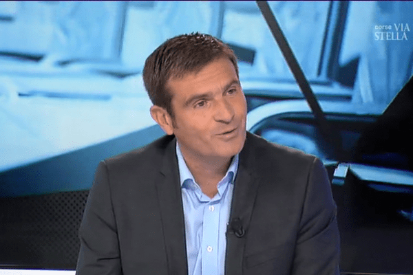 Jean-Martin Mondoloni, lors de l'émission Cuntrastu.
