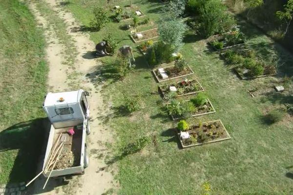 Le cimetière naturel de Niort a été créé il y a 5 ans.
