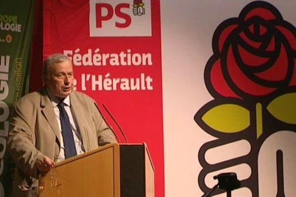 Jean-Michel Du Plaa lors du second débat de la primaire citoyenne de Béziers