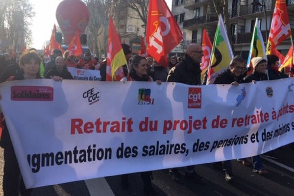 Nouvelle mobilisation intersyndicale et interprofessionnelle, ce mardi 14 janvier 2020.