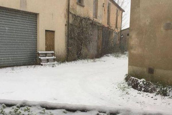 La neige à Montmirail.