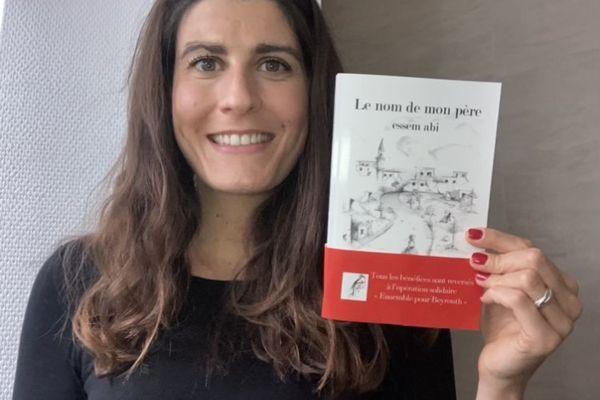 L'autrice originaire d'Amiens, Juliette Elamine et son premier roman Le nom de mon père, essem abi.