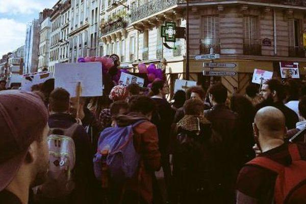 La 20ème édition de la manifestation pour les droits des personnes trans et intersexes, à Paris.