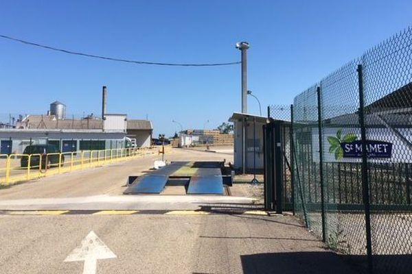 L'entreprise Saint Mamet de Vauvert, dans le Gard - 11 mai 2018