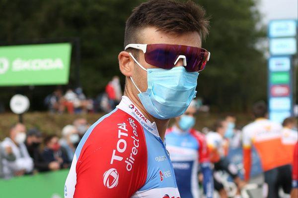 Le coureur albigeois Lilian Calmejane a l'ambition de porter haut les couleurs de son Tarn natal sur les routes du Tour de France 2020