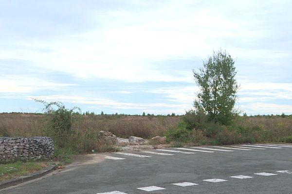 Les terrains où l'usine doit être construite à Courmelles près de Soissons ont déjà été achetés par Rockwool.