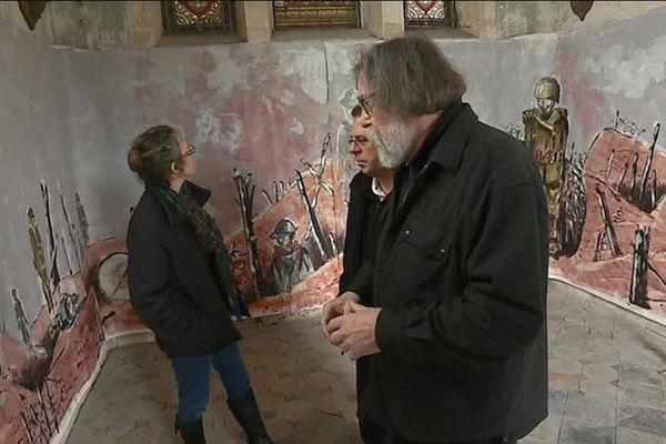 La fresque de Pierre Le Preux