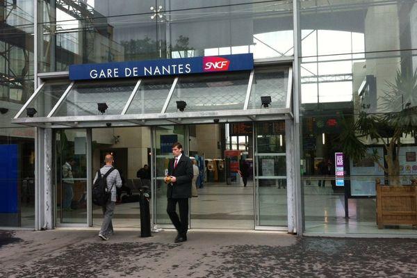 La gare sud de Nantes ce jeudi matin 13 juin 2013