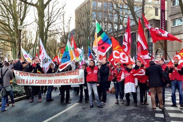 400 manifestants à Metz (Moselle).