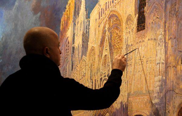 Yadegar Asisi dans son atelier