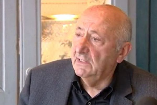 Nîmes - Jean-Louis Gazeau, ancien président du Nîmes Olympique - 4 ami 2015.
