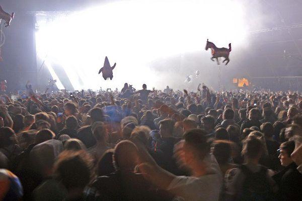 11.000 spectateurs ont assisté à la Rock'N'Beat du Printemps de Bourges, le 25 avril 2015.