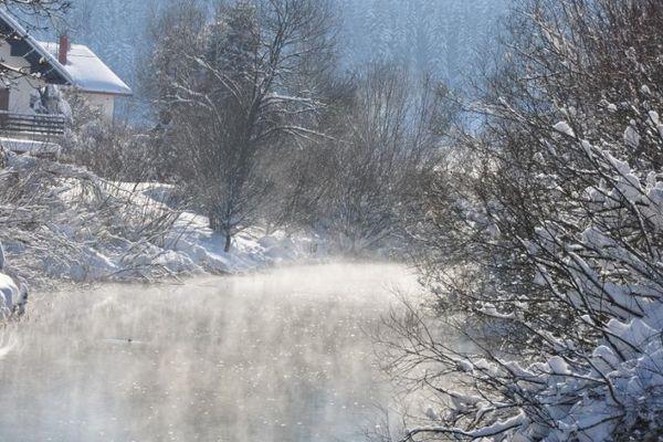 Le temps, froid et sec se prêtait particulièrement bien à la transju