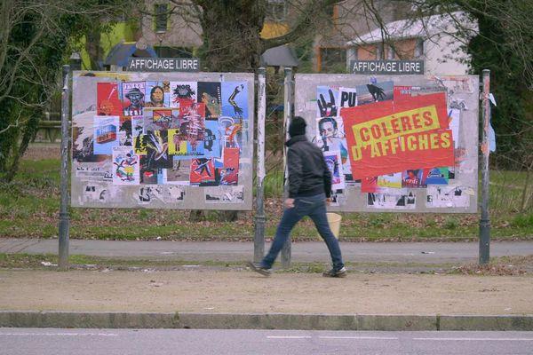 Colères d'Affiches, un documentaire de Pierre-François Lebrun.