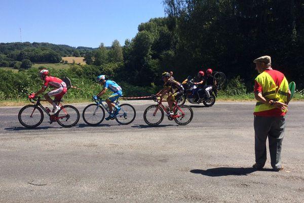 Marcel Laforêt n'en est pas à son premier du Tour de Limousin.
