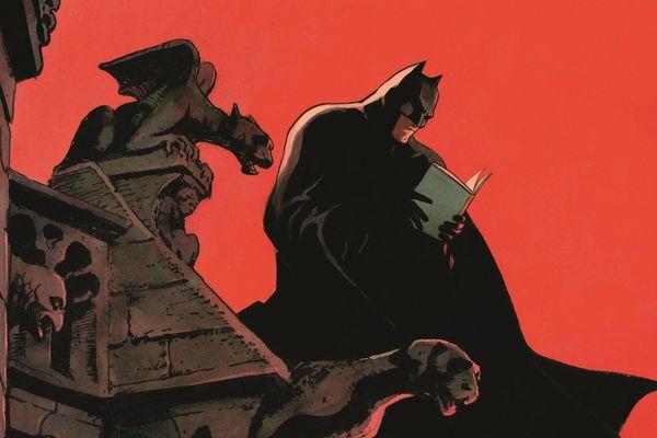 L'affiche Batman de l'auteur Enrico Marini invite les visiteurs au 24ème rendez-vous de la BD d'Amiens