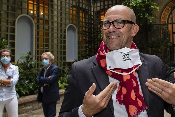 Hervé Guihard, futur maire de Saint Brieuc, est arrivé en tête au soir du 2ème tour