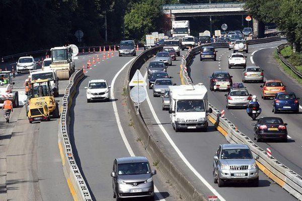 Les travaux démarrés le 31 juillet sur l'autoroute A1 n'ont pas encore généré de grosses difficultés mais ils montent en puissance cette semaine
