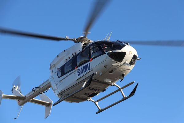 Une de victimes doit être héliportée par le SAMU vers un centre hospitalier (image d'illustration).
