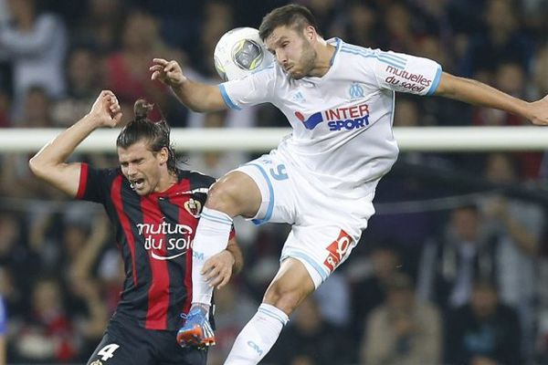 Mathieu Valbuena lors du match contre Nice, le 18 octobre dernier