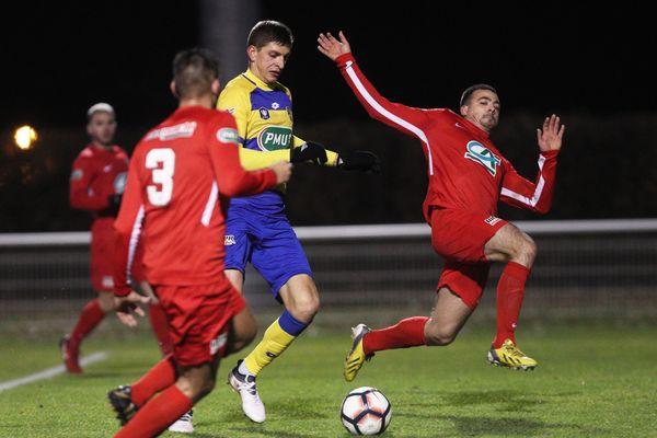 En raison du boycott, le club de football amateur d'Illkirch-Graffenstaden n'aura pas l'occasion de tenter d'atteindre les huitièmes de finale de la Coupe de France, comme en 2018 face à Sochaux.