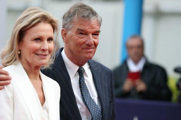 Le réalisateur Benoît Jacquot et l'actrice Marthe Keller, tous deux membres du jury, à Deauville