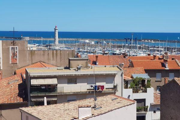 Du haut du phare, s'offre une vue à 360° sur le port de Sète.