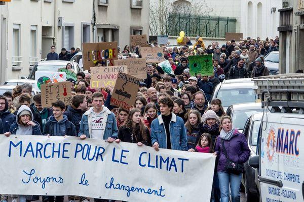Les jeunes Coutançais s'étaient déjà manifestés lors de la précédente marche pour le climat
