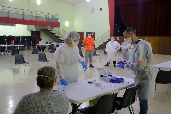 Les infirmiers libéraux ont participé aux opérations de dépistages massifs.
