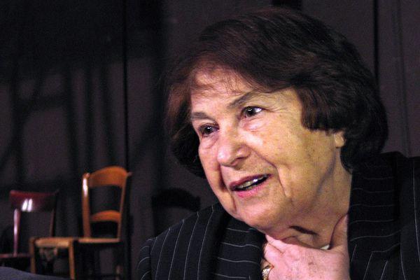 Ida Grinspan, survivante de la Shoah