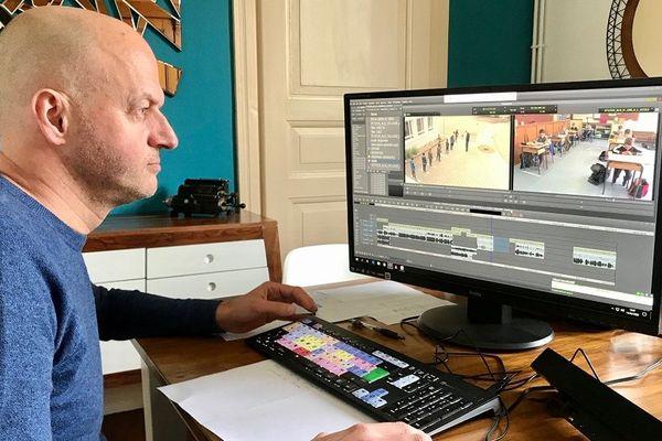 Montage du reportage avec Lionel Grandadam. Pas un chat à Dingsheim pour le tournage de l'épisode 2 ?