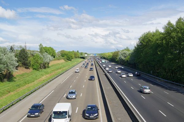 L'autoroute A4.